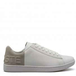 Λευκά Δερμάτινα Sneakers Lacoste