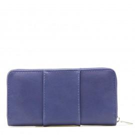 Μπλε Πορτοφόλι με Πέρλες