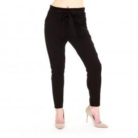Μαύρο Ψηλόμεσο Παντελόνι