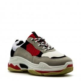 Πολύχρωμα Sneakers με Κορδόνια