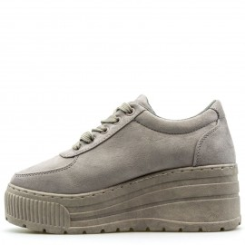 Γκρι Δίπατα Sneakers με Glitter