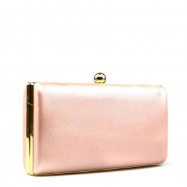 Nude Varnish Clutch Τσαντάκι