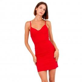 Κόκκινο Mini Φόρεμα
