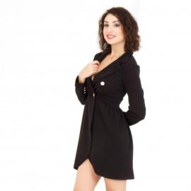 Μαύρο Blazer Φόρεμα