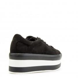 Μαύρα Δίπατα Sneakers