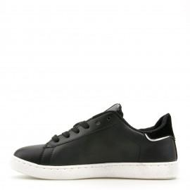 Μαύρα Sneakers με Κορδόνια