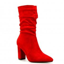 Κόκκινη Καστόρινη Σουρωτή Μπότα