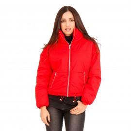 Κόκκινο Puffer Jacket