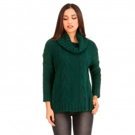 Πράσινη Πλεκτή Μπλούζα Ζιβάγκο