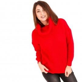 Κόκκινη Πλεκτή Μπλούζα Ζιβάγκο