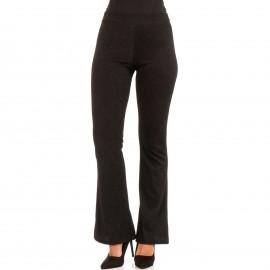 Μαύρο Παντελόνι Καμπάνα με Glitter