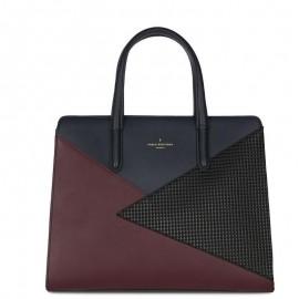 Πολύχρωμη Τσάντα Χειρός Paul's Boutique Georgia Tote Bag Burgundy/Navy