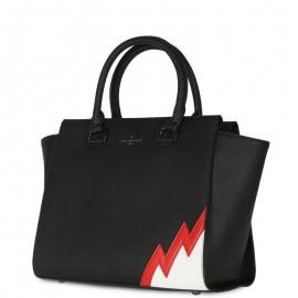 Μαύρη Τσάντα Χειρός Paul's Boutique Bethany Tote Bag Black Multi