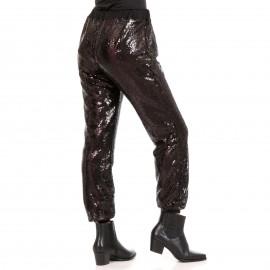 Μαύρο Παντελόνι με Παγέτες