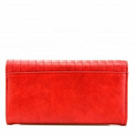 Κόκκινο Πορτοφόλι με Τρουκς