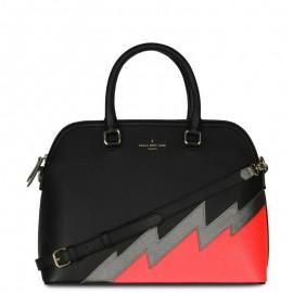 Μαύρη Τσάντα Χειρός Paul's Boutique Maisy Top Handle Bag Black Neon Coral Smithfield