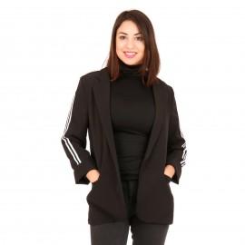 Μαύρο Σακάκι με Ρίγες