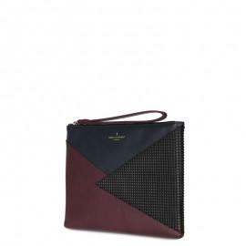 Πολύχρωμο Τσαντάκι Paul's Boutique Stephanie Clutch Bag Burgundy/Navy