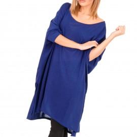 Μπλε Ρουά Μακρυμάνικο Μπλουζοφόρεμα