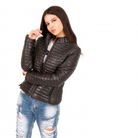 Μαύρο Puffer Jacket