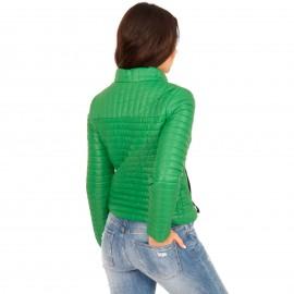 Πράσινο Puffer Jacket