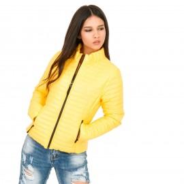 Κίτρινο Puffer Jacket