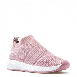 Ρόζ Knit Slip Ons