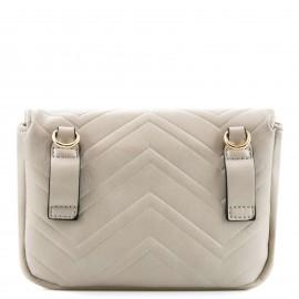 Μπεζ Belt Bag με Μεταλλική Λεπτομέρεια