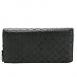 Μαύρο Πορτοφόλι με Κούμπωμα