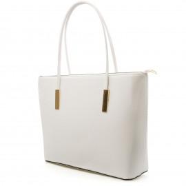 Λευκή Τετράγωνη Τσάντα Ώμου