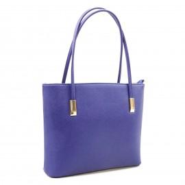 Μπλε Τετράγωνη Τσάντα Ώμου