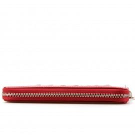"""Κόκκινο Πορτοφόλι σε Λουστρίνι με """"Logo Play"""""""
