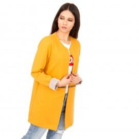 Κίτρινο Μακρυμάνικο Σακάκι