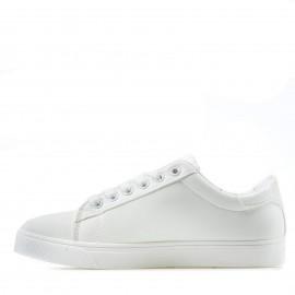 Λευκά Δετά Sneakers