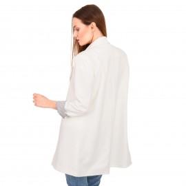 Λευκό Blazer Σακάκι