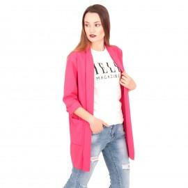 Φούξια Blazer Σακάκι