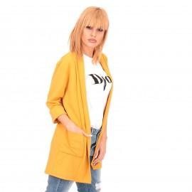 Κίτρινο Blazer Σακάκι