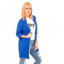 Μπλε Ρουά Blazer Σακάκι