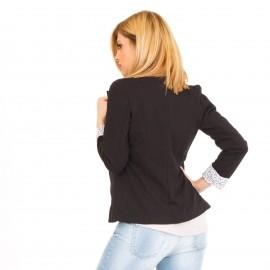 Μαύρο Cropped Σακάκι
