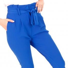 Μπλε Ρουά Παντελόνι με Ζωνάκι