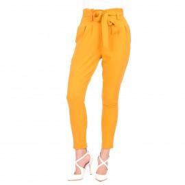 Κίτρινο Παντελόνι με Ζωνάκι