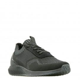 Μαύρα Sneakers Tamaris με Δίχτυ