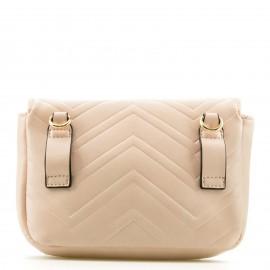 Nude Belt Bag με Μεταλλική Λεπτομέρεια
