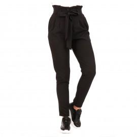 Μαύρο Παντελόνι με Ζωνάκι