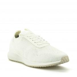 Λευκά Sneakers Tamaris με Δίχτυ