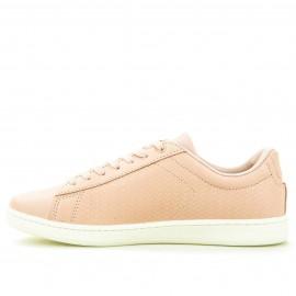 Ρόζ Δερμάτινα Sneakers Lacoste