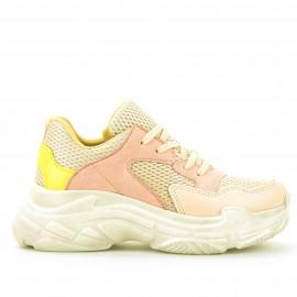 Ρόζ Δετά Sneakers