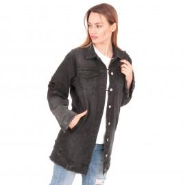 Μαύρο Τζιν Jacket Oversized