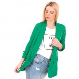 Πράσινο Σακάκι με Βάτες