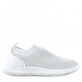 Λευκά Knit Slip Ons